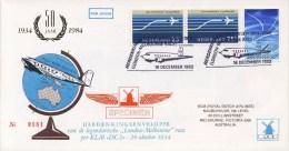 Philato W-envelop LP.2A / LP2A (1983) - Zeer Zeldzaam, Oplage Slechts 500 Stuks! - Luchtpost