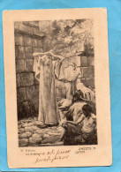 "JUDAICA-La Défaite  M Trebacz-édition Société ""libanon"" Varsovie -dos Nobn Partagé Années 1900 - Jewish"
