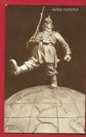 EXM-22 Marcia Teutonica, Humour, Marche Teutonne, Kaiser. Non Circulé - Guerre 1914-18