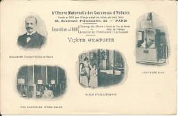 PARIS- L OEUVRE MATERNELLE DES COUVEUSES D ENFANTS - FONDEE EN 1891 POUR L ELEVAGE GRATUIT DES ENFANTS NES AVANT TERME - Exposiciones