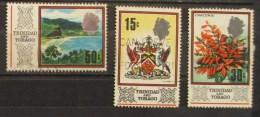 Trinidad & Tobago 1969 Maracas Bay Coats Of Arm Flowers Chaconia - Trindad & Tobago (1962-...)