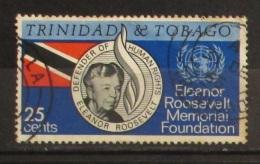 Trinidad & Tobago1965 Eleanor Roosevelt Memorial Foundation Used - Trindad & Tobago (1962-...)