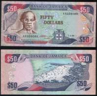 Jamaica P 73 B - 50 Dollars 1.2.1993 - AUNC - Giamaica