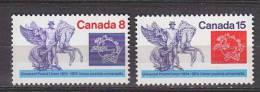 PGL AZ002 - CANADA Yv N°548/49 ** - 1952-.... Règne D'Elizabeth II