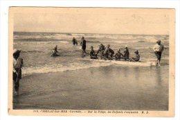 Dept 33,Gironde,Cpa Soulac Sur Mer,Sur La Plage,les Enfants S´amusent - Soulac-sur-Mer