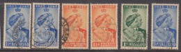 Silcer Wedding 1947, Basutoland, Bechuanaland, Kenya Uganda Tanganyika, N. Rhodesia, Nyasaland, Swaziland, Used - Unclassified