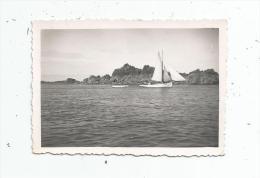 photographie , 9 x 6.5 , bateau , voilier