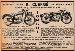 - Ancienne PUBLICITE  Pour Vélomoteurs Et Motos - 016 - Moto