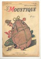 Le Moustique Du Ier Avril 1945 - Hitler, Pâques,guerre 40/45, Détails, Voir Descriptif (b163) - Livres, BD, Revues