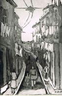 MARSEILLE  -  Henri AUTRAN - La Rue Du Panier -   RECTO VERSO - Sin Clasificación