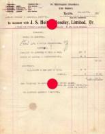 LEEDS J.S. HOLT & MOSELEY LIMITED Dr. 1919 - Royaume-Uni
