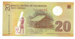 Nicaragua 20 Cordobas 2007 S/N A1 UNC - Nicaragua