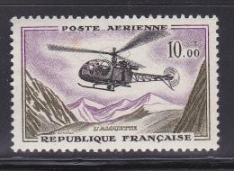 N° 41 Poste Aérienne: Prototypes Types De 1954-59 En Nouveau Francs L´Alouette : Timbre Neuf - 1960-.... Nuovi