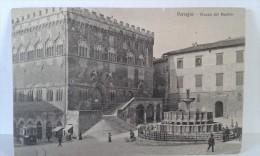 Perugia - Piazza Del Duomo -  Sezioni Riunite Vers Hamburg . Cachets Divers .... Lot 275 . - Perugia