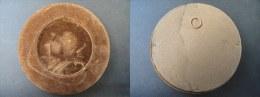 SUPPORT POUR MEDAILLE DE 68 Mm - Support De111 Mm De Diamètre - Jetons & Médailles