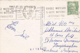 75 - Paris - Théâtre De L'Opéra (flamme Antiparisités, 809) - Storia Postale