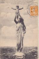 80 - Albert - La Vierge Dorée Du Clocher (158) - Storia Postale