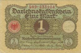 GERMANY 1 MARK 1920 PICK 58 AU - [ 3] 1918-1933 : Weimar Republic