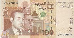 MOROCCO 100 DIRHAMS 2002 PICK 70 UNC - Marocco