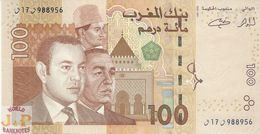 MOROCCO 100 DIRHAMS 2002 PICK 70 UNC - Morocco
