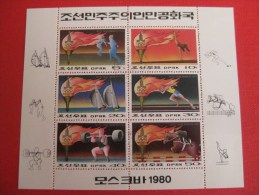 Sport Bloc JO Moscou 1980, Escrime, Gymnastique,voile, Course, Haltérophilie, Hippisme - Estate 1980: Mosca