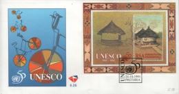 SOUTH AFRICA - FDC UNESCO 1995 Mi #BLOCK 40 - FDC