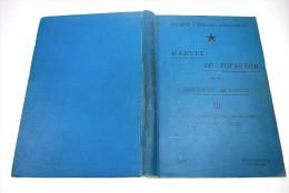 Manuel Du Voyageur Et Du Résident Au Congo 3 Construction Photo Collection Droit Itinéraires Photographie Belge 1901 - Books, Magazines, Comics