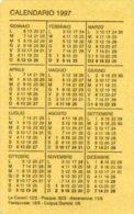 CALENDARIO 1997 + ORARIO DEL SOLE E FASI LUNARI - PERFETTO H79 - Calendari