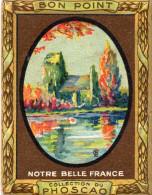 """""""bon Point"""" PHOSCAO, Notre Belle France, église De CRIQUEBEUF, Calvados  N°5 -  (ap6) - Chocolate"""