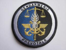 INSIGNE GENDARMERIE PREVOTALE - Police & Gendarmerie