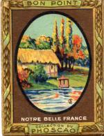"""""""bon Point"""" PHOSCAO, Notre Belle France,  VIEUX MOULIN EN NORMANDIE , N°9-  (ap2) - Chocolate"""