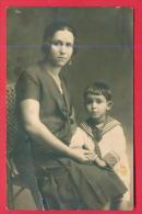 167048 / MATHER AND LITTLE BOY  - Bulgaria Bulgarie Bulgarien Bulgarije - Groupes D'enfants & Familles