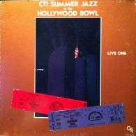 * LP *  CTI SUMMER JAZZ At The HOLLYWOOD BOWL - CTI ALL STARS (USA 1977 EX!!!) - Jazz