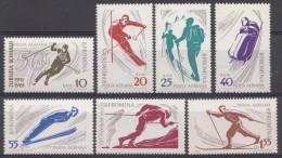 ROUMANIE 1961  Mi.nr: 1951-1957 Rumänischer Skiverband  Neuf Sans Charniere-MNH-Postfris - Ungebraucht