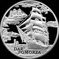1 Rub Belarus 2009 PROOF Sail Ship Dar Pomorza - Belarús