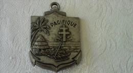 Insigne Militaire Régiment D'infanterie De Marine Du Pacifique Nouvelle-Calédonie - Militaria