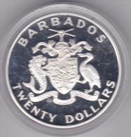 BARBADE -  PIECE DE VINGT DOLLARS - 1988 - Barbades