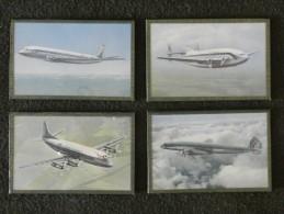 Lot De 4 Photos Sous Cadre D'avions AIR FRANCE - Other