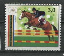 (cl 19 - P2) Turkmenistan ** N° 26 (ref. Michel Au Dos) - JO De Barcelone : équitation - - Turkménistan