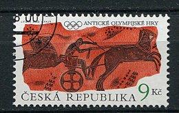(cl 19 - P8) Rep. Tchèque  Ob. N° 254 (ref. Michel Au Dos) - JO Antiques. Course De Chars - - Czech Republic