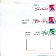 Pap Double Obliteration Curiosité - Enteros Postales
