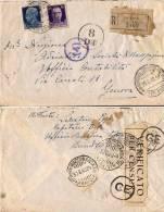 MARINA MILITARE WWII UFFICIO CENSURA TELEGRAFO BRINDISI 1940 X GENOVA - Posta Militare (PM)