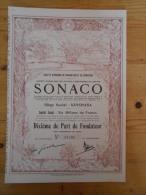 Sonaco - Kinshasa - 1928 - Afrique