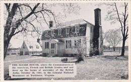 The Moore House Yorktown Virginia Dexter Press