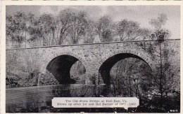 The Old Stone Bridge At Bull Run Virginia Dexter Press