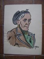 Malap (Louis Malapert) - Type De Femme - - Estampes & Gravures