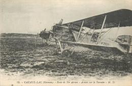 33 CAZAUX LAC école De Tir Aérien  Avions Sur Le Terrain     2 Scans - France