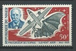 Niger Yvert PA 122 ** Clement Ader Avion Espace Plane Space Bat Chauve Souris - Africa