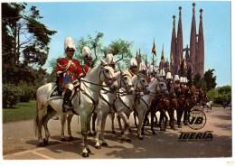 BARCELONA Sagrata Familia  IBERIA - Elicotteri