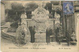 Ed B Gazeau Postcard, Douvres-la-Delivrande, Le Monument Aux Morts - Francia